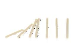 Composition en effet de domino images stock