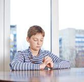 composition en 12 enfants de yo Photo stock