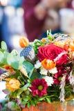 Composition en fleur d'automne Photos stock