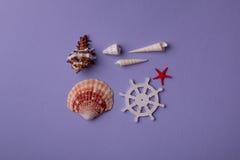 Composition en mer d'été Images stock