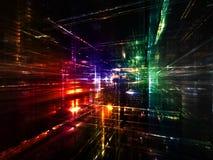 Composition en monde de fractale Photo stock
