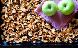 Composition en pommes Images libres de droits