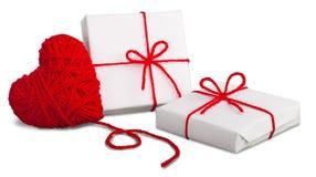 Composition en Saint Valentin Photo stock