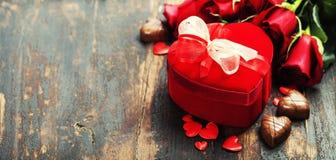 Composition en Saint-Valentin Photographie stock libre de droits