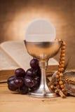 Composition en sainte communion images stock