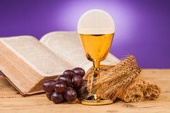 Composition en sainte communion photographie stock