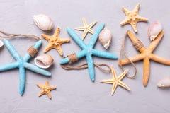 Composition en thème d'océan Photos libres de droits