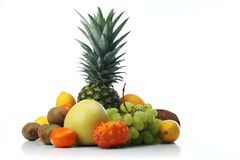 Composition of exotic fruits Royalty Free Stock Image