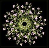 Composition florale illustration de vecteur