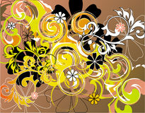 Composition florale Photo stock
