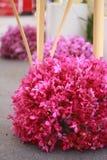 Composition florale en exposition photo libre de droits
