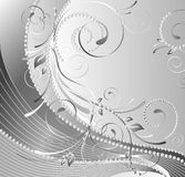 Composition florale monochrome Photo libre de droits