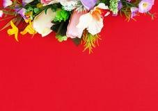 Composition florale pour des salutations Photos stock