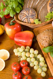 Composition of food Stock Photo
