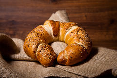 Composition of fresh bread Royalty Free Stock Photo