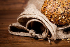 Composition of fresh bread Royalty Free Stock Photography