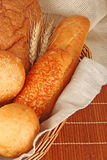 Composition of fresh bread Royalty Free Stock Images
