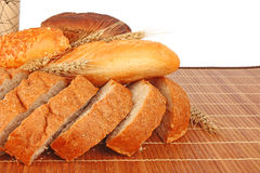 Composition of fresh bread Royalty Free Stock Photos