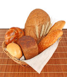 Composition of fresh bread Stock Images