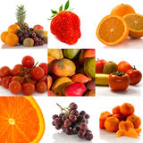 Composition of fresh fruit Royalty Free Stock Image