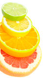 Composition From Bright Fruits Stock Photos