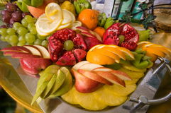 Composition from fruit. Stock Image