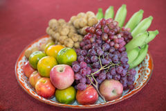 Composition fruit Stock Photography