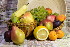 The composition of the fruit. Royalty Free Stock Images