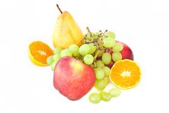 Composition with fruits Stock Photo