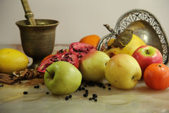 Composition Of Fruits Royalty Free Stock Image