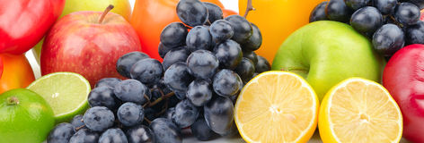 Composition fruits and vegetables Royalty Free Stock Photography