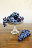 Composition with grapes Royalty Free Stock Photos