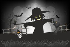Composition for Halloween Royalty Free Stock Images