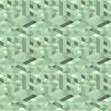 Composition isométrique de place, rectangle Images stock