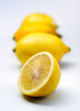 Composition with lemons Royalty Free Stock Image