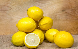 Composition of lemons Stock Photography