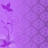 Composition lilas de centrale Image stock