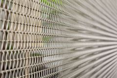 Composition metal cage Royalty Free Stock Image