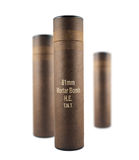 Composition of mortar bomb tube containers Royalty Free Stock Photography