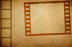 Composition of movie frame. Illustration of grunge composition of movie frame vector illustration