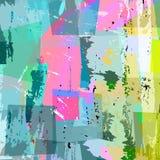 Composition multicolore abstraite illustration libre de droits