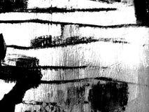 Composition noire et blanche abstraite illustration libre de droits