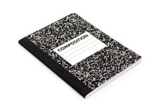 Composition notebook Royalty Free Stock Images