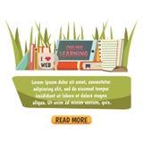 Composition orthogonale en éducation en ligne Photos libres de droits