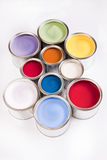 Composition of paint Stock Images