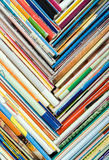 Composition of papers Stock Image