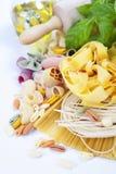 Composition of pasta Stock Photos
