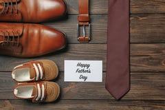 Composition pour le jour du ` s de père sur le fond Photographie stock