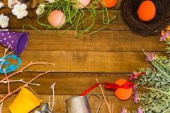 Composition pour les vacances de Pâques photos libres de droits