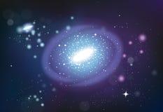 Composition réaliste en système d'univers Image stock